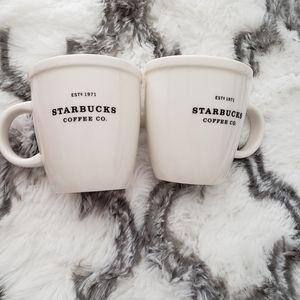 Starbucks coffee cup set